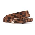 FSA014 Thin Leopard Pattern Belt